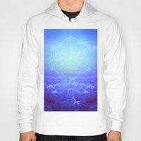 tolkien Hoodies featuring All But the Brightest Stars (Sirius Star Geometric) by soaring anchor designs