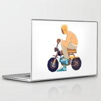 honda Laptop & iPad Skins featuring #2 HONDA Z50 by Brownjames Prints