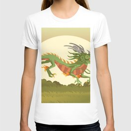 traditional chinese dragon T-shirt