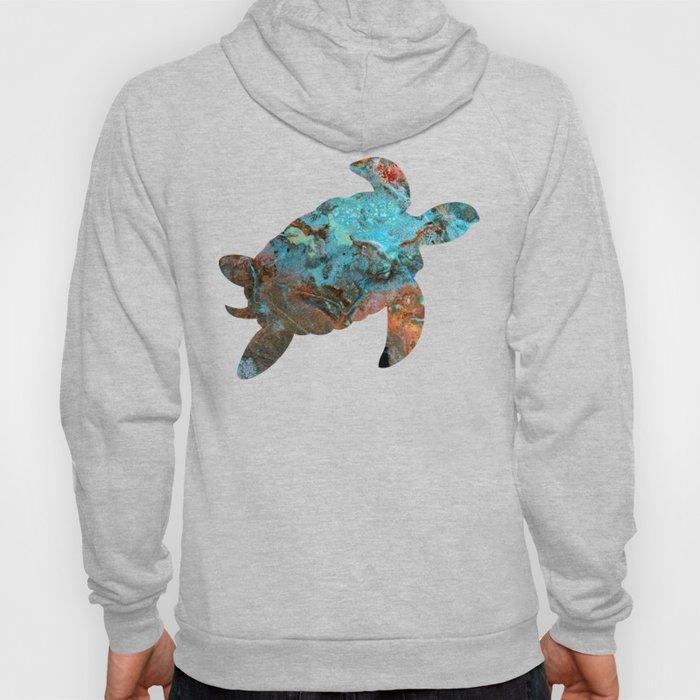 Patina Sea Turtle Hoody