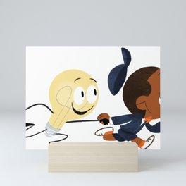 Sammy Startup Character Mini Art Print