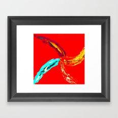 4 arm chakra Framed Art Print