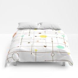 Ballastic Modern Circle Design Comforters