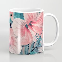 Vintage Jade Coral Aloha Coffee Mug