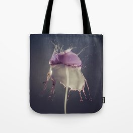 Vanilla and Bluberry Tote Bag