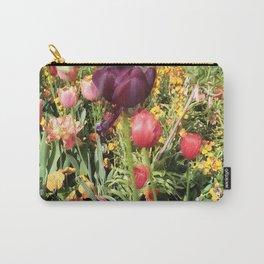 Flower Schadows Carry-All Pouch