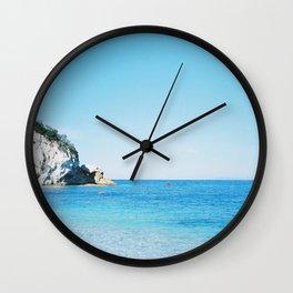 Italian Pebble Beach Wall Clock