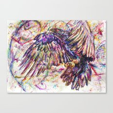 Eagle // Abuelo/A Canvas Print