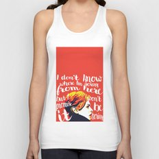 Won't be Boring Unisex Tank Top
