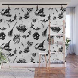 Halloween pattern design Wall Mural