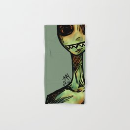 Zombie Hand & Bath Towel