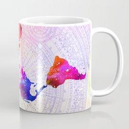Flat Earth Coffee Mug