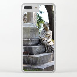 The Sightless Woman Clear iPhone Case