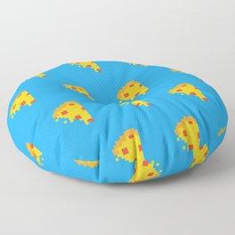 8-bit Pie Pattern Floor Pillow
