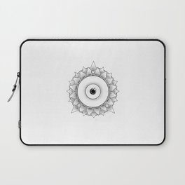 The Scaly Watcher Laptop Sleeve