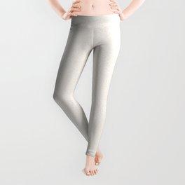 Melange - White and Linen Leggings