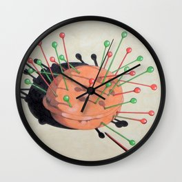 pincushion n. 1 Wall Clock
