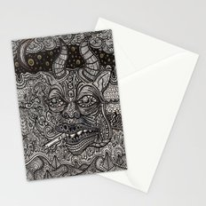 bored 2 death Stationery Cards