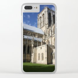 York Minster, England Clear iPhone Case