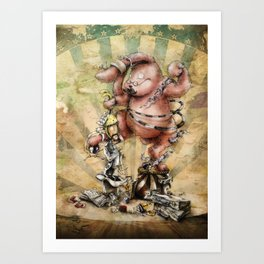 MAGIC TRICKS- V Art Print