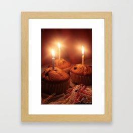 Birthday Cupcakes!!! Framed Art Print