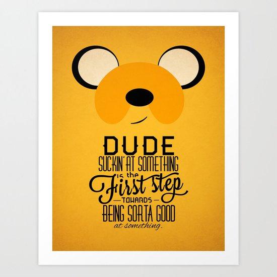 Jake the Wise Art Print