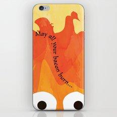 Calcifer's Curse iPhone & iPod Skin