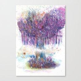 Mystical Tree Illustration Canvas Print