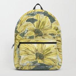 Sunflower burst Backpack