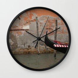 Gondola, Gondola, Gondola Wall Clock