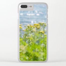 Lake Superior Sparkles Clear iPhone Case