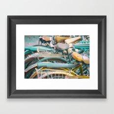 Bicicletta Tangle Framed Art Print