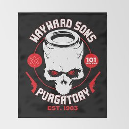 Purgatory Wayward Sons Throw Blanket