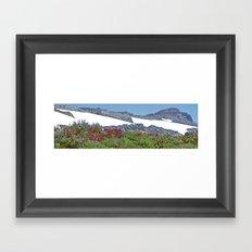 Mountain Summer Framed Art Print