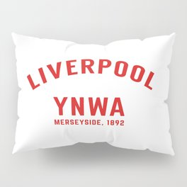 Liverpool tshirt | You'll Never Walk Alone | YNWA shirt | Premier league team Pillow Sham