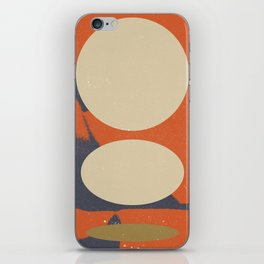 Abstract Sketch 003 iPhone Skin