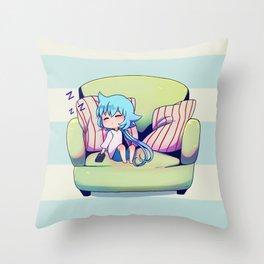 Sora Sleeping Throw Pillow