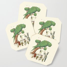 The Parrot Tree Coaster