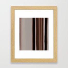 Ombre Brown Earth Tones Framed Art Print