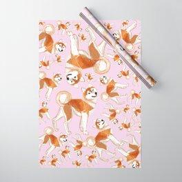 Akita Inu (Pattern) Wrapping Paper