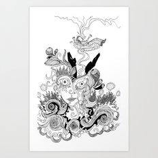 Saving Grace Art Print