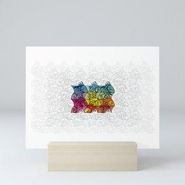 EscherFishes Mini Art Print