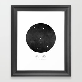 Orion's Belt Art Print Framed Art Print