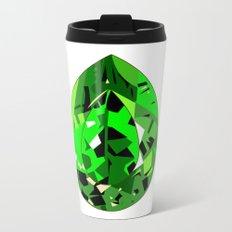GEMS - green , expensive look , luxury and shine Metal Travel Mug
