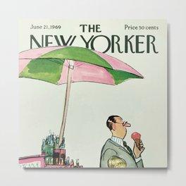 The New Yorker - 06/1969 Metal Print