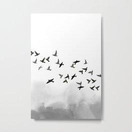 Bird flock Metal Print