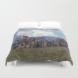 Southern Soldiers Duvet Cover