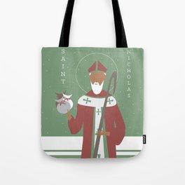 St. Nicholas Icon Tote Bag