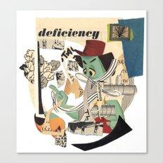 deficiency Canvas Print