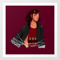 archer Art Prints featuring Archer by shirley